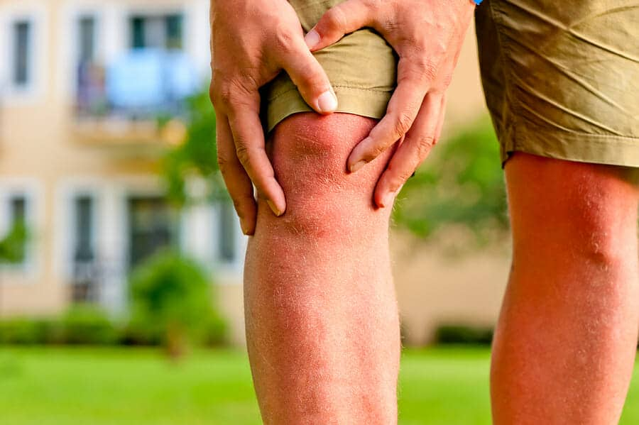 50 Year Old knee Pain